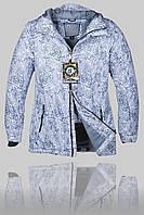 Женская зимняя горнолыжная куртка Volcom 7114 Серая