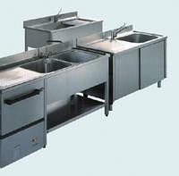 Нержавеющие мойки и столы б/у, промышленные столы и мойки с нержавеющей стали б/у