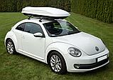 Багажный бокс на крышу автомобиля Amos Travel Pack 500 белый, фото 3