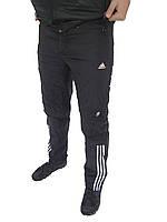 Зимние спортивные брюки Adidas 11099 черные