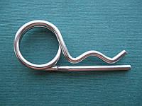 DIN 11024 : нержавеющий шплинт пружинный с кольцом, фото 1