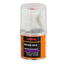 Смесь ремонтная ремкомплект Repair Box RANAL (полиэфирная смола + стекломат) 0,25кг