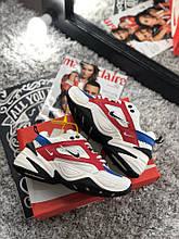 Только размер 36 !!! Женские кроссовки Nike MK2 Tekno Red /найк / реплика (1:1 к оригиналу)