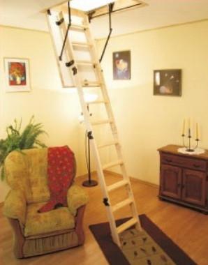 Горищні сходи OMAN Termo Long S (120х60)