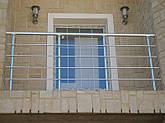 Перила алюминиевые на балкон, фото 3
