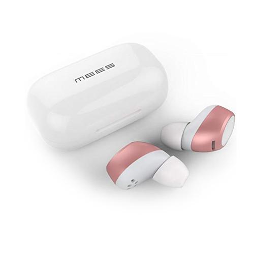 Беспроводные наушники MEES T1 Bluetooth Earphone TWS Pink