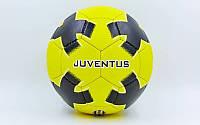 Мяч футбольный №5 гриппи Juventus 0047-782: PVC, сшит вручную, фото 1