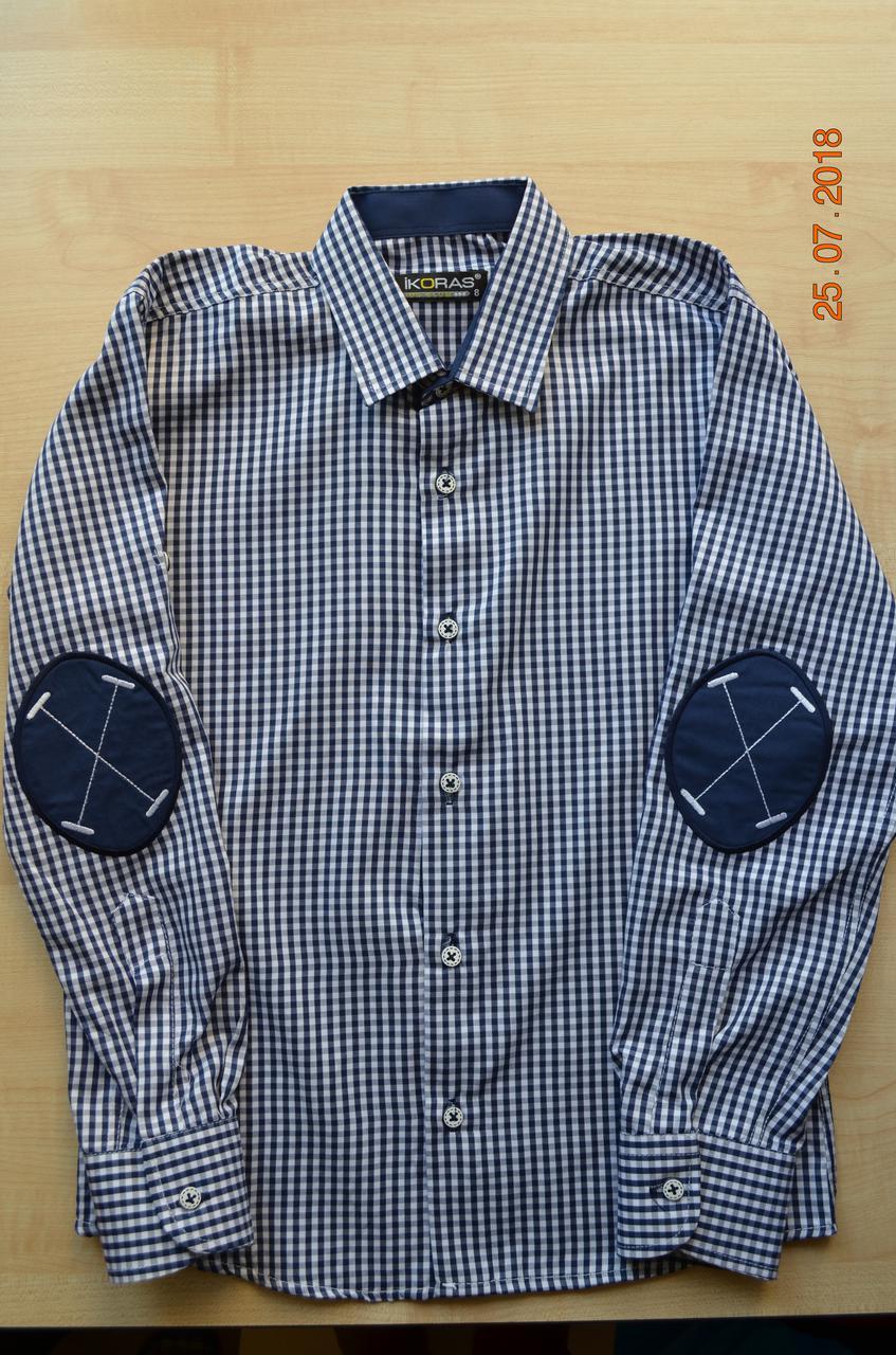 Рубашка в клетку для мальчиков IKORAS