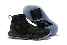 Мужские кроссовки Under Armour 3C CURRY 5 Black/Gold