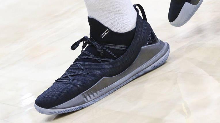 Мужские кроссовки Under Armour 3C CURRY 5 Black, фото 2