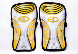 Щитки футбольные Europaw (желтые)