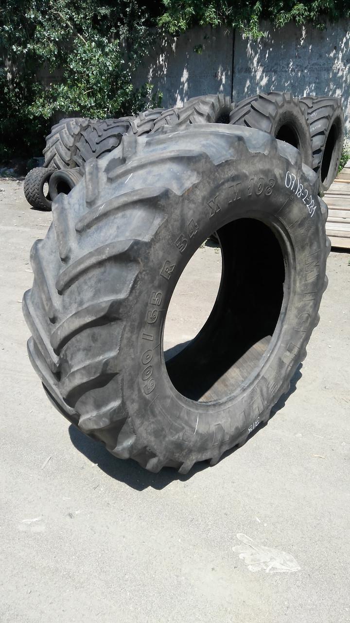 Шины б/у 600/65R34 Michelin ХМ108
