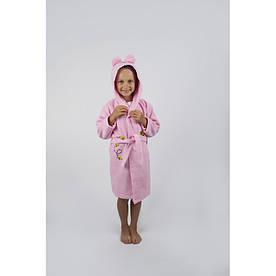 Халат детский Lotus - Винни Пух 1-2 года розовый