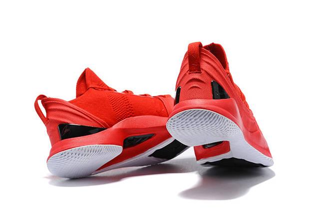Мужские кроссовки Under Armour 3C CURRY 5 Red, фото 2