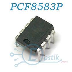 PCF8583P, часы-календарь реального времени с ОЗУ 240х8бит, DIP8
