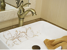 Чаша накладна у ванну кімнату 9-015