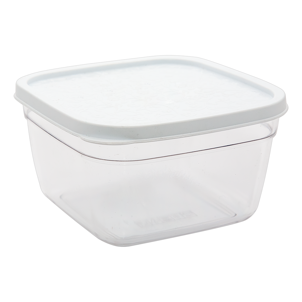 Контейнер харчовий 0,3 л прозоро-білий