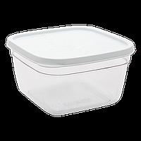 Контейнер харчовий 0,3 л прозоро-білий, фото 1
