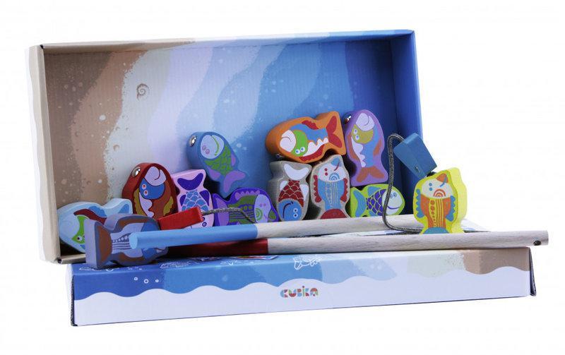 деревянная игрушка Cubika Рыбалка 13739