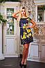 Летнее женское платье с орнаментом и цветами (0772-0774-0773-0880 svt), фото 5