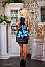 Летнее женское платье с орнаментом и цветами (0772-0774-0773-0880 svt), фото 6