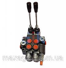 Гидрораспределитель Р80 2Х секционный 80 л/мин.