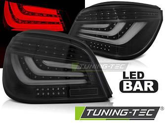 Фонари задние тюнинг оптика BMW E60 черные (03-07)