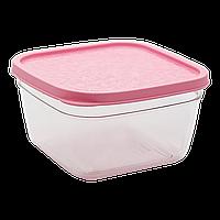 Контейнер харчовий 0,47 л рожевий, фото 1