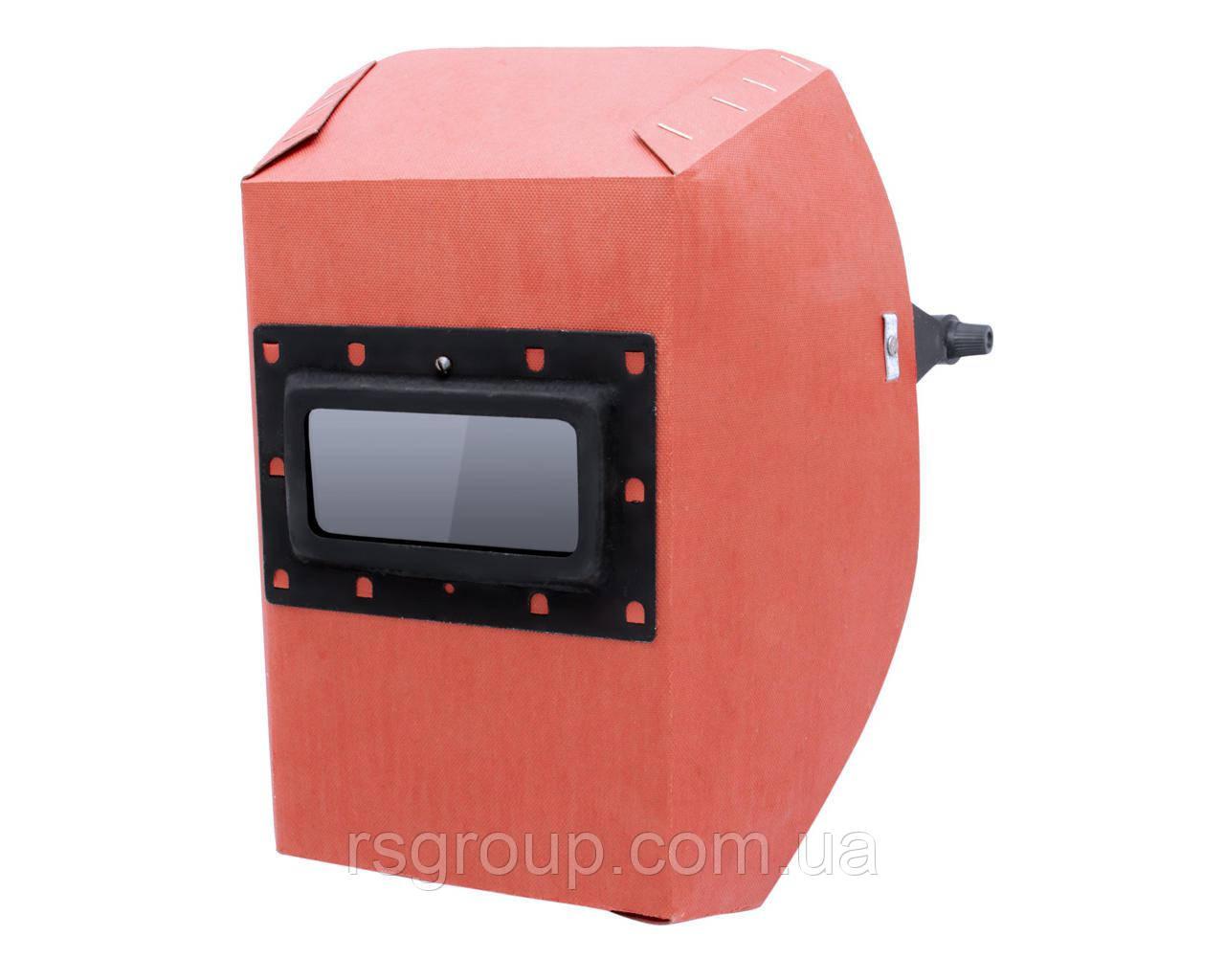 Маска сварщика фибра-картон 0,8 мм VITA красный