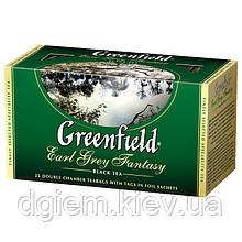 """Чай чорний EARL GREY FANTASY 2гх25шт. """"Greenfield"""" , пакет"""