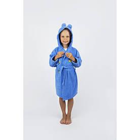 Халат детский Lotus - Винни Пух 1-2 года синий