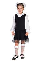 Школьное детское платье для девочки