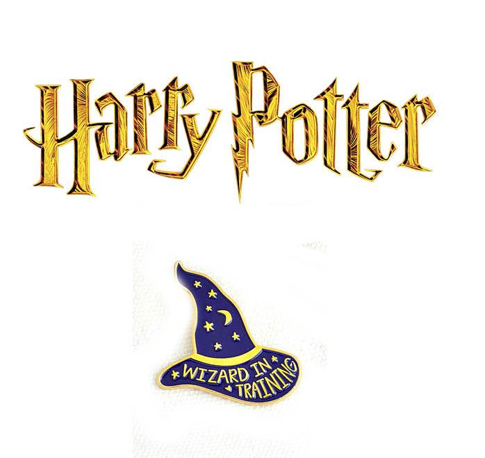 Брошь пин значок сортировочная шляпа Гарри Поттер