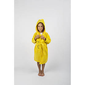 Халат детский Lotus - Винни Пух 3-4 года желтый