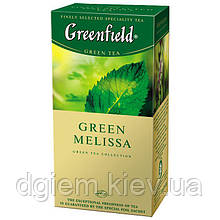 "Чай зелений GREEN MELISSA 1,5гх25шт. ""Greenfield"" , пакет"