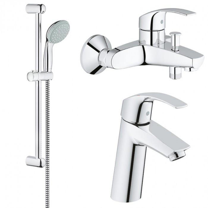 Набор смесителей для ванной GROHE Eurosmart 123246М