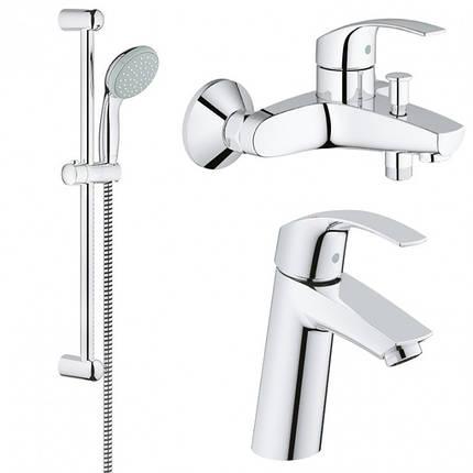 Набор смесителей для ванной GROHE Eurosmart 123246М, фото 2