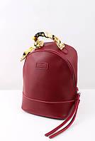 Рюкзак мини Кайли вишневый