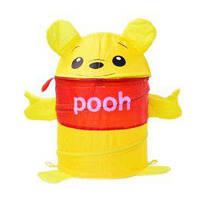 Корзина для игрушек Винни Пух, в сумке со змейкой 40см
