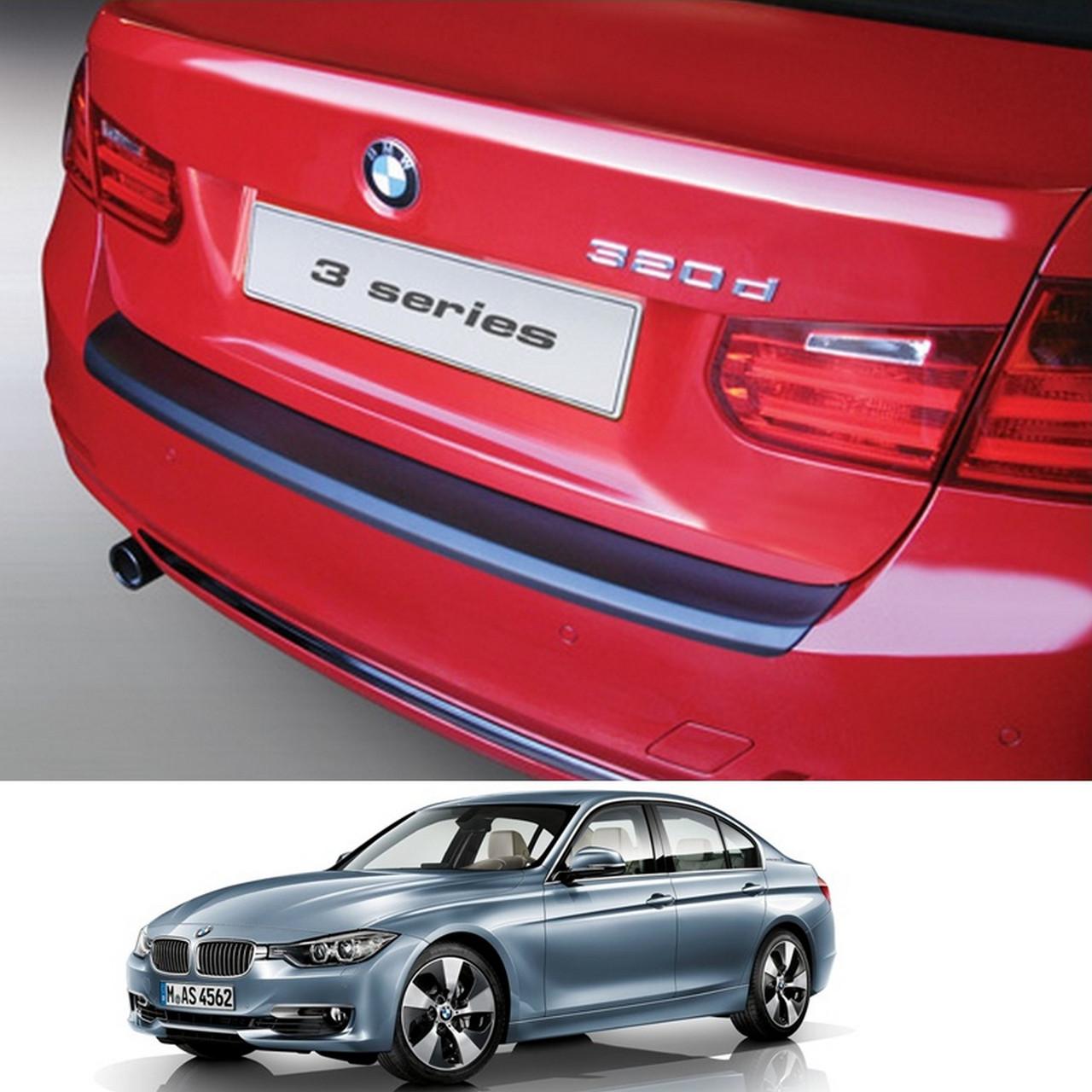 BMW 3-series F30 2011-2018 пластиковая накладка заднего бампера