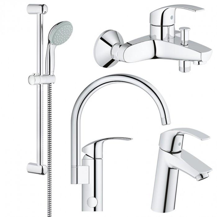 Набор смесителей для ванной GROHE Eurosmart 123248МK