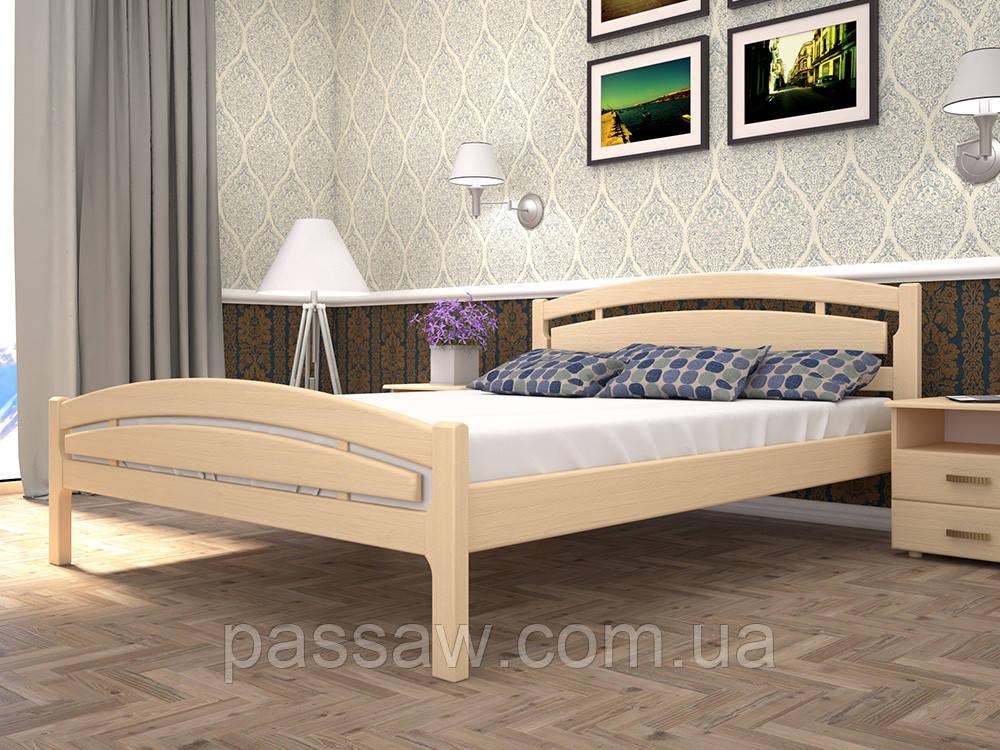 Кровать ТИС МОДЕРН 2 140*190/200 бук