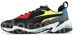 Мужские кроссовки Puma Thunder Spectra Black (Пума) черные