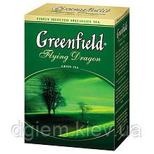 """Чай зелений FLYING DRAGON 100г """"Greenfield"""", лист"""