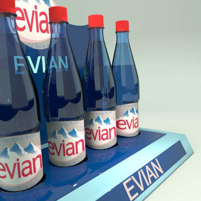 Рекламные стойки для воды
