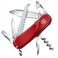 Нож складной Мультитул Викторинокс Victorinox EVOLUTION S13 (85мм, 14 функций), красный 2.3813.SE