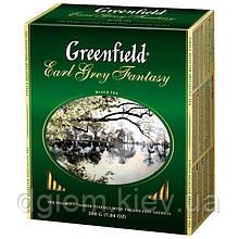 """Чай чорний EARL GREY FANTASY 2гх100шт. """"Greenfield"""" , пакет"""