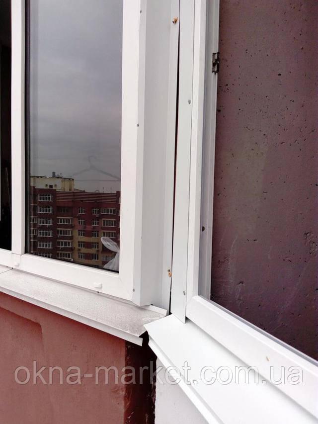 Остекление лоджий в Киеве на ул. Софии Русовой