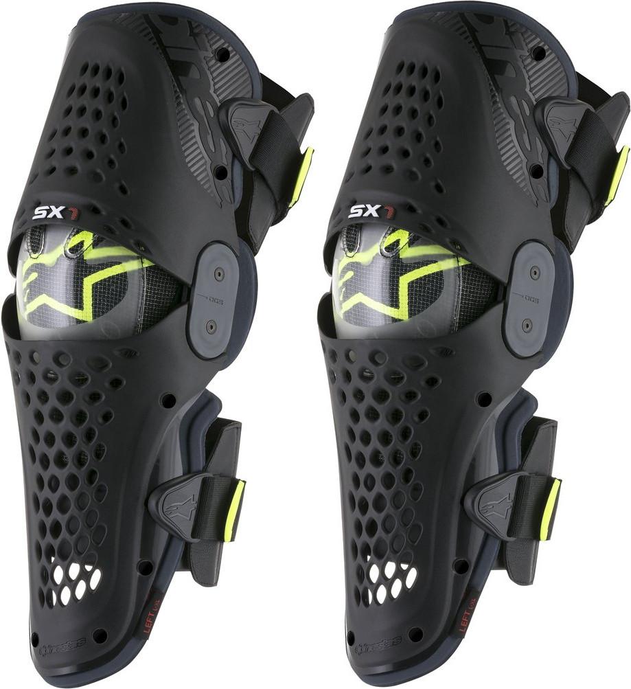 "Мотонаколенники Alpinestars SX-1 black\antracite ""XXL"""