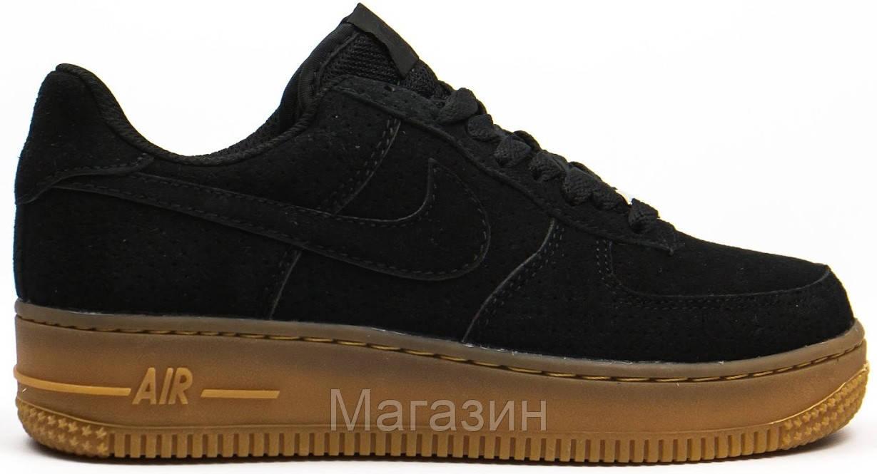 d76d3deb Женские кроссовки Nike Air Force 1 Low (в стиле найк аир форс низкие) черные